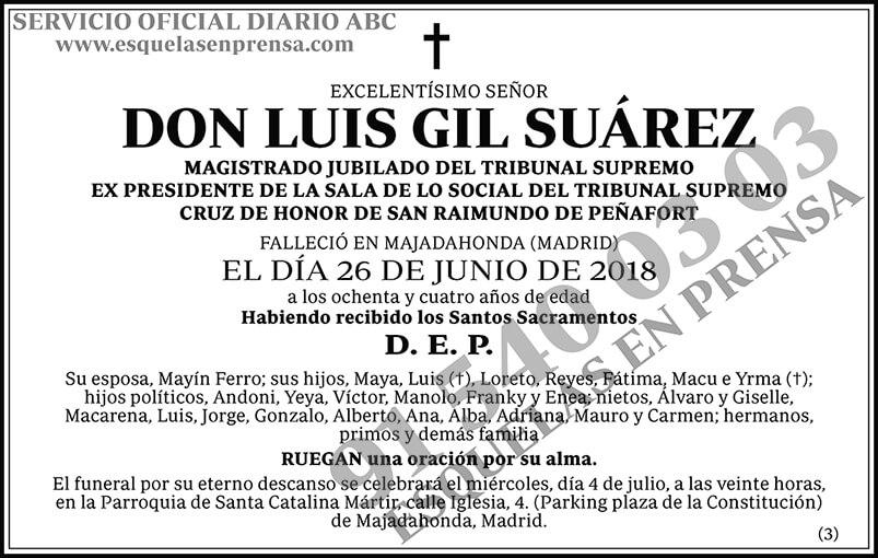 Luis Gil Suárez